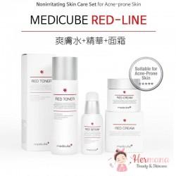 Medicube Red舒緩抗痘修復3件優惠套裝