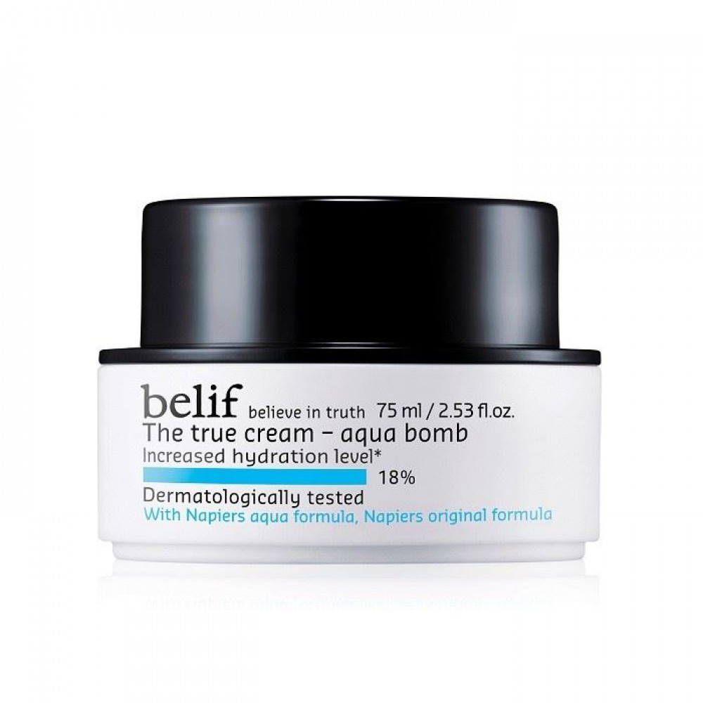 Belif The True Cream Aqua Bomb斗篷草保濕炸彈面霜75ml