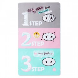 Holika 去黑頭豬鼻貼 Pig-nose Clear Black Head 3-step Kit (5片)