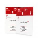 Medicube 去印美白積雪草修復面膜 Red Centellaca Mask 10片