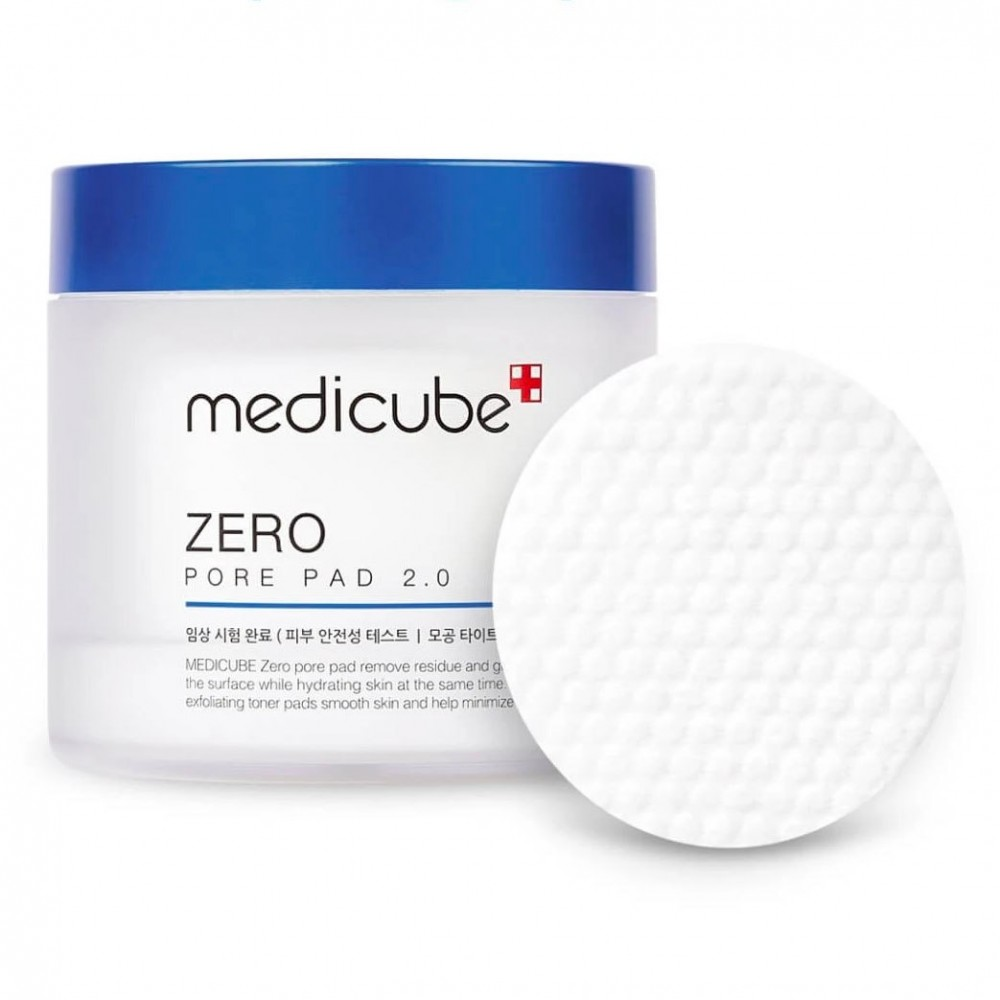 Medicube Zero Pore Pad 2.0 毛孔角質清潔棉片 (70片)